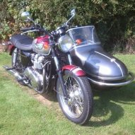 Triumph SideCar Outfit